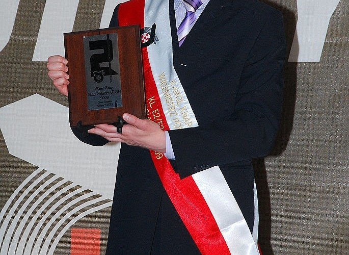 Karol Knap Wicemistrz CC 2009 E2 E3
