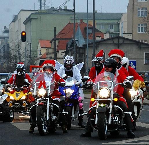 Mikolaje motocyklisci Gdynia