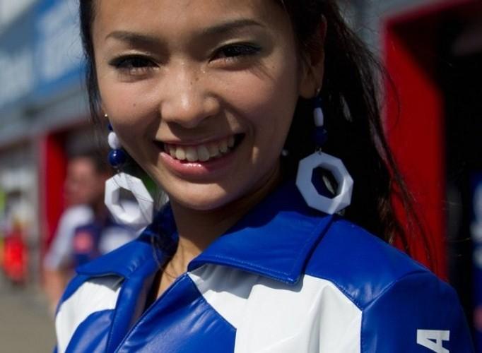 Yamaha paddock girls motegi