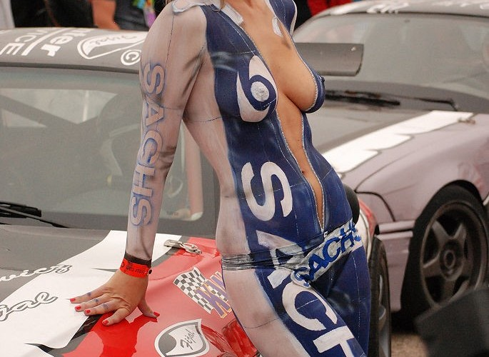 Body painting Sachs