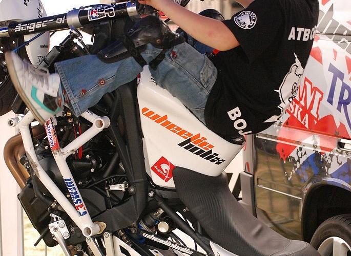 Eryk motocykl Beka