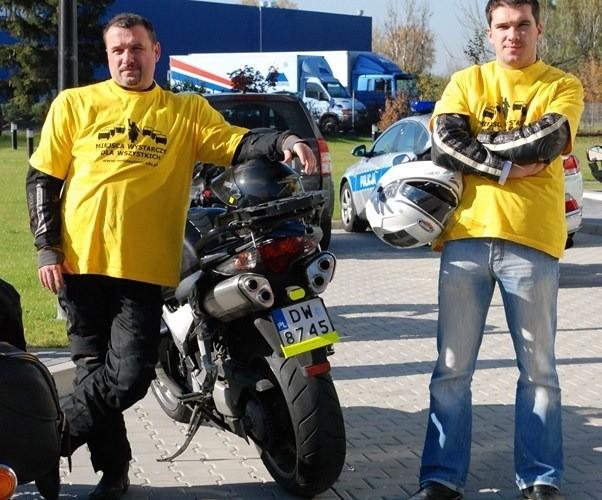motocyklisci sa bezpieczni