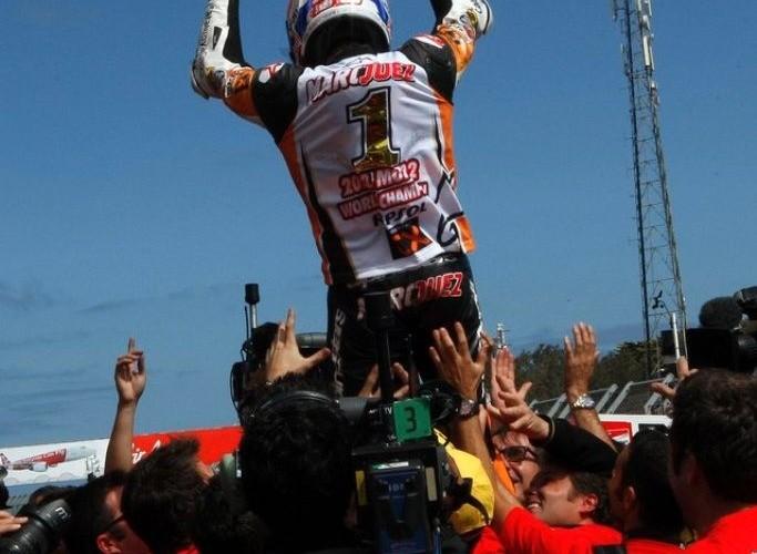 Marc Marquez 2012 mistrz swiata