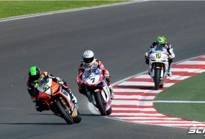 SBK Race Moscow Raceway 2012 Laverty Checa Davies