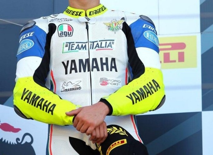 Nurburgring Superstock podium