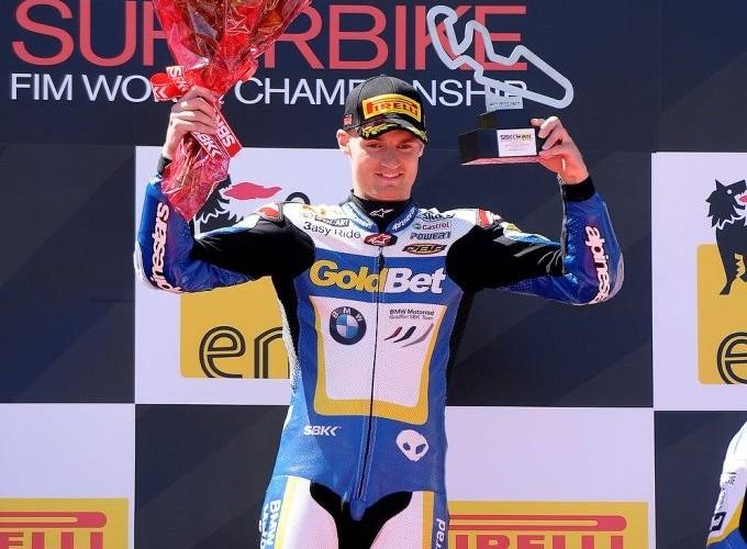 Davies podium