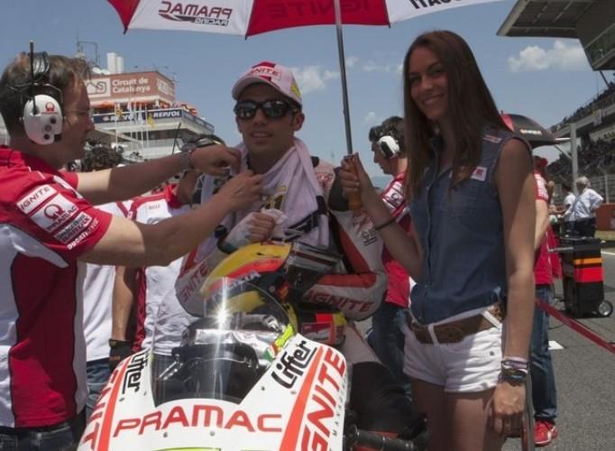 Hostessy Pramac Grand Prix Katalonii 2013