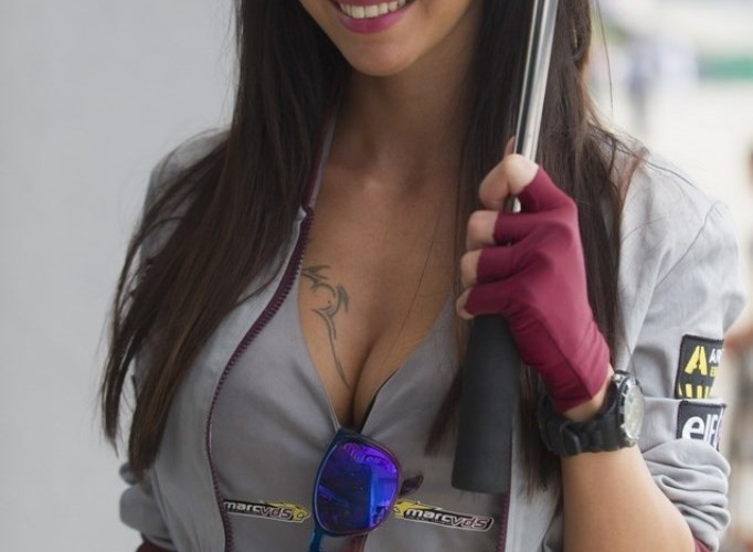 Dziewczyna Sachsenring 2013