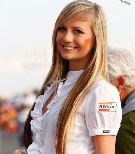 repsol blondynka