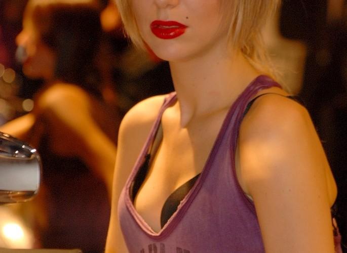 Harley Davidson hot girl EICMA