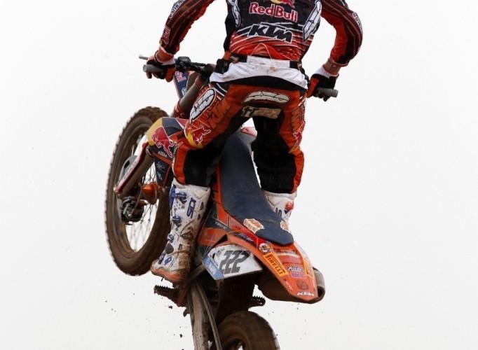 Cairoli w powietrzuMXGP 2013 THai Grand Prix
