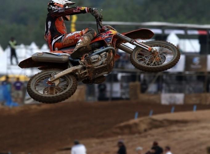 Dedycker w powietrzu MXGP 2013 Grand Prix