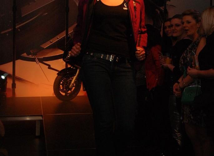 Motocyklowa moda Yamaha Ladies Night