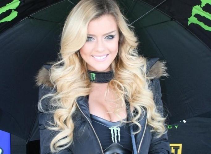 Blondynka GP Silverstone 2013