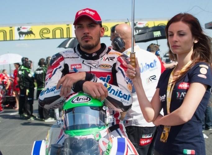 Giugliano World Superbike Donington 2013