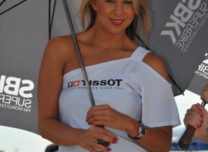 SBK Motorland Aragon 2013 Tissot girl
