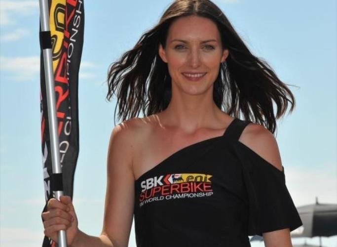 SBK Motorland Aragon 2013 eni girls