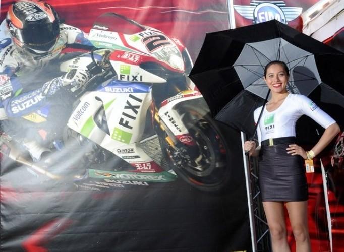 Dziewczyna Suzuki WSBK Monza 2013