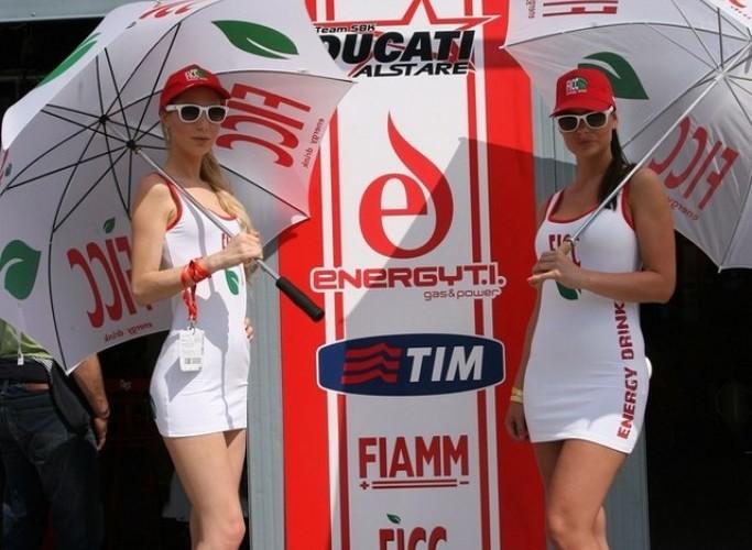 Dziewczyny Alstare WSBK Monza 2013