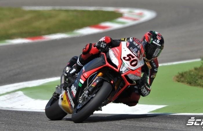Guintoli Superbike Monza 2013 race