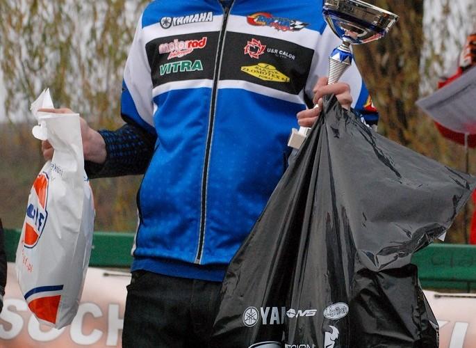 podium Damian Rajczyk miejsce 1 quady 2k