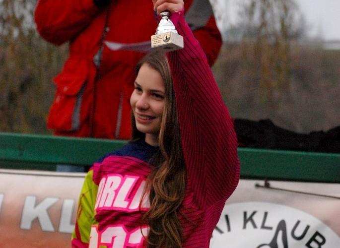 podium Dominika Orlik miejsce 3 MX kobiet