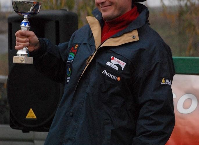 podium Krzysztof Dziadko miejsce 2 licencja C