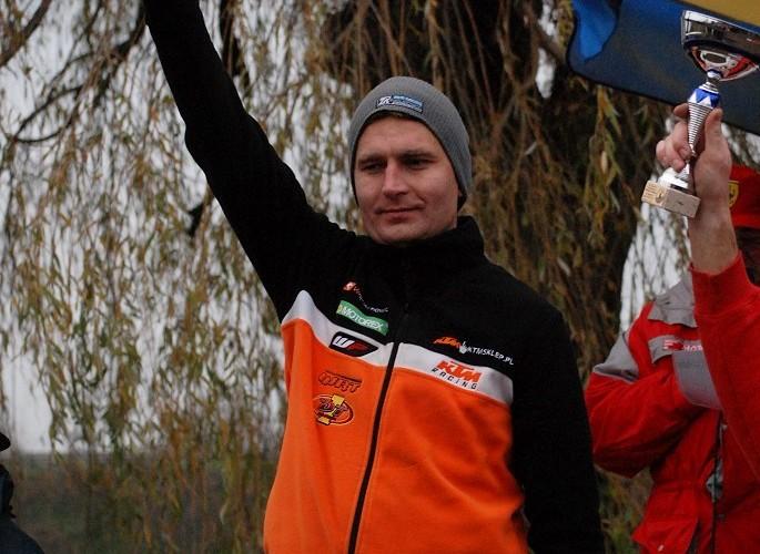 podium Marcin Szczepanski miejsce 1 licencja B