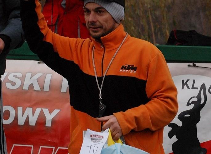 podium Tomasz Stelmaszyk miejsce 3 licencja C