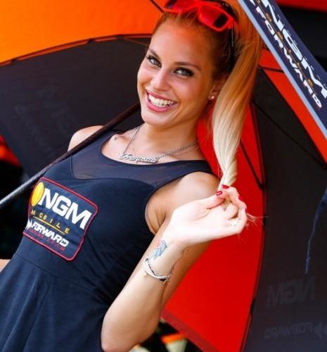 blondyna MotoGP Catalunya 2014