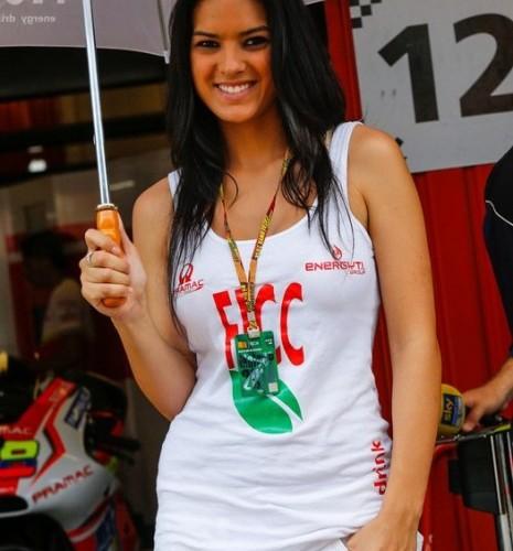 brunetka MotoGP Catalunya