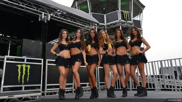 dziewczyny Paddock Girls MotoGP Catalunya