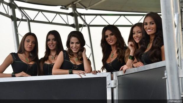 ekipa dziewczyn Paddock Girls MotoGP Catalunya 2014