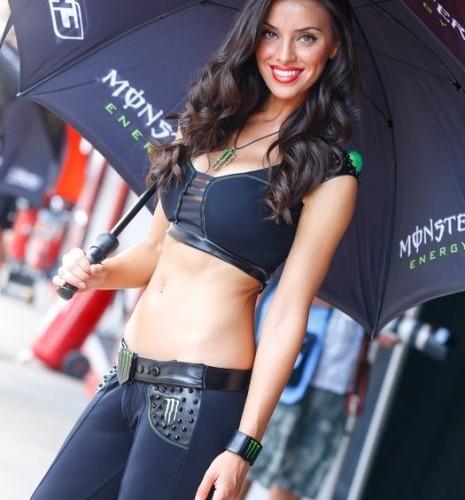 hostessa MotoGP Catalunya 2014