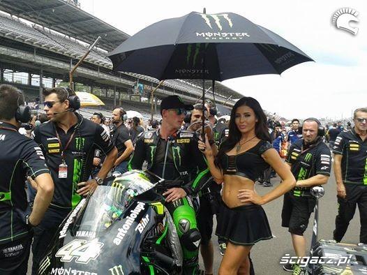 z parasolem indianapolis motogp 2014