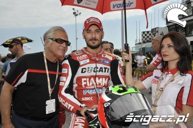 Ducati girls sbk misano 2014