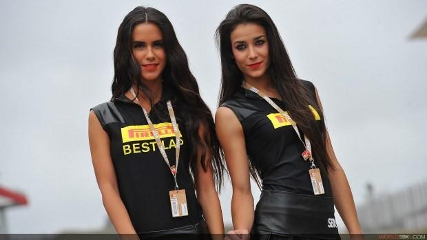 dziewczyny Pirelli sbk portimao 2014