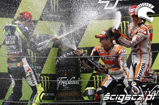 Podium MotoGP Catalunya 2014