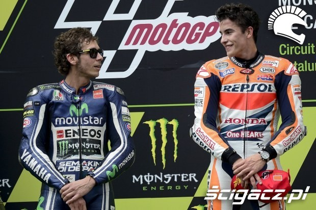 Rossi Marquez MotoGP Catalunya 2014