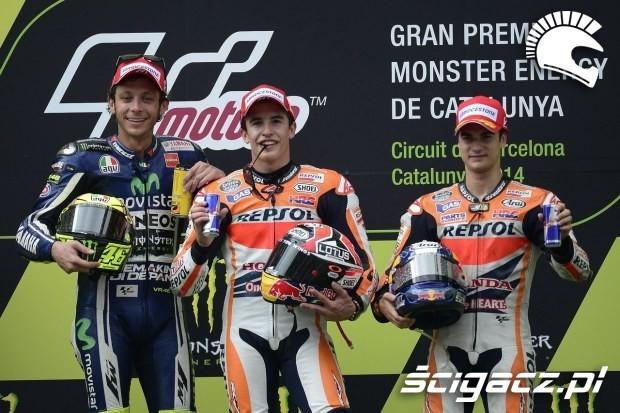 Rossi Marquez Pedrosa MotoGP Catalunya 2014