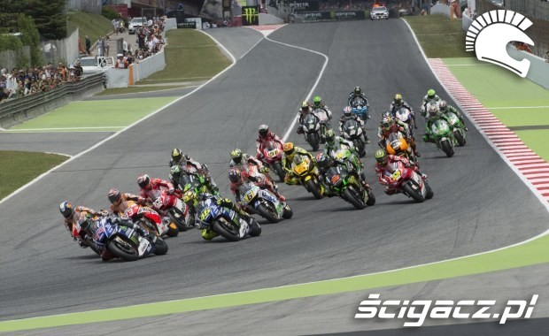 Stawka zawodnikow MotoGP Catalunya 2014