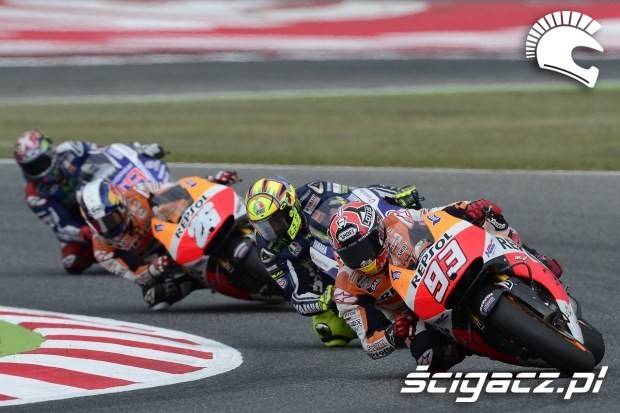 Zakret MotoGP Catalunya 2014
