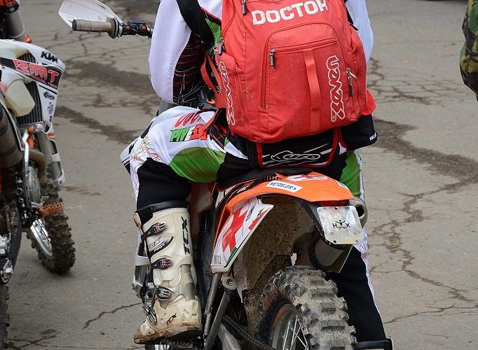 Doktor na motocyklu