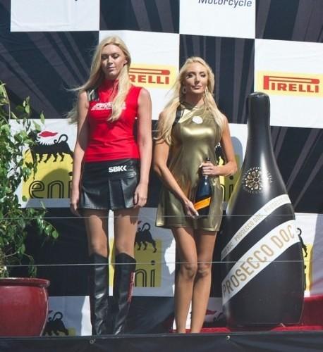 dziewczyny na podium girls laguna seca 2014