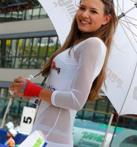 sliczna modelka paddock girls mugello 2014
