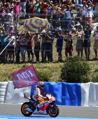 100 wyscig Marqueza motogp Jerez 2014