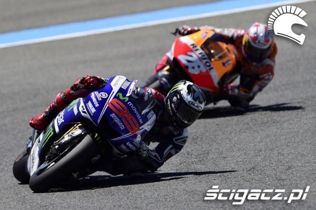 Lorenzo i Pedrosa motogp Jerez 2014