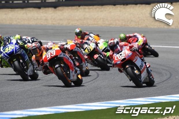 Motocyklisci motogp Jerez 2014