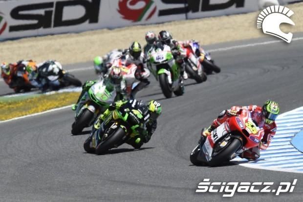 Poczatek wyscigu motogp Jerez 2014