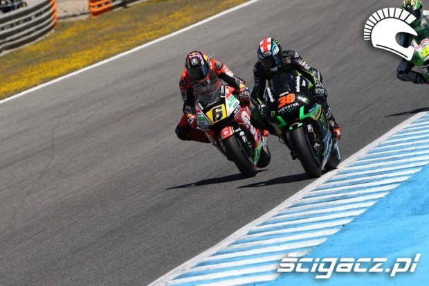 Stefan Bradl i Bradley Smith Jerez motogp 2014